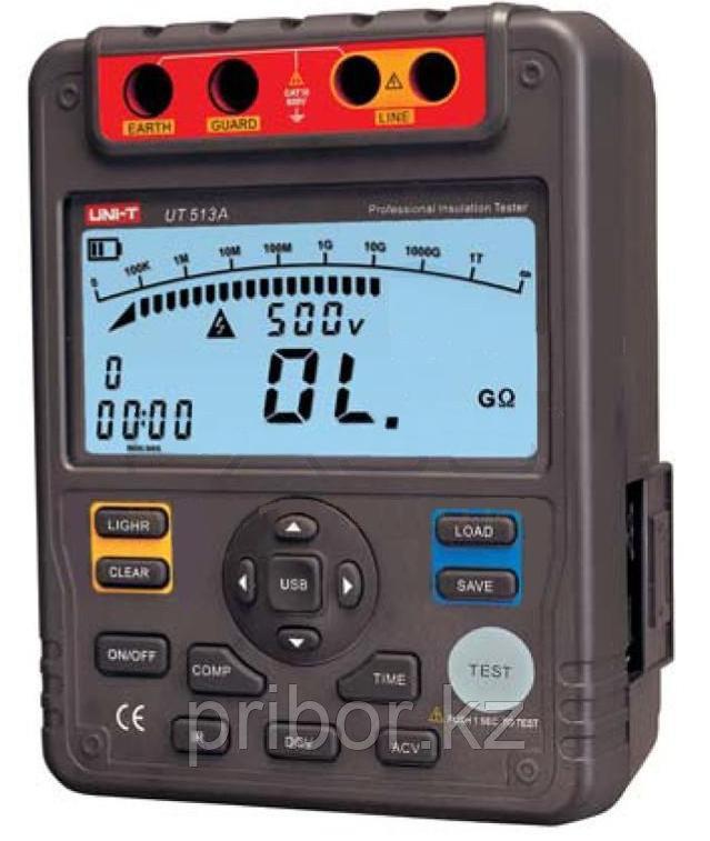 Мегаомметр цифровой UNI-T UT513A (5000 V)