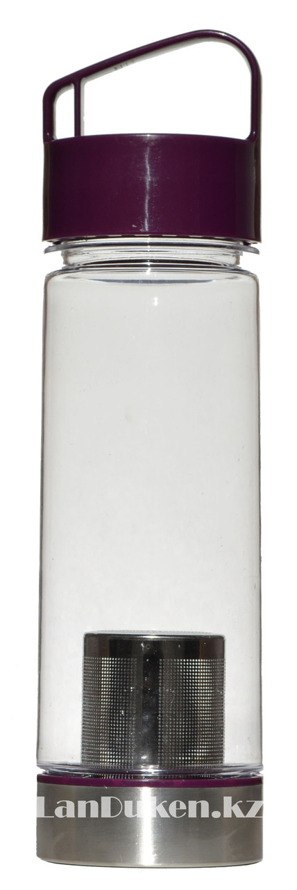 Бутылочка для воды, чая RUNRI 550 мл, емкость для воды (с заварником) - фото 1