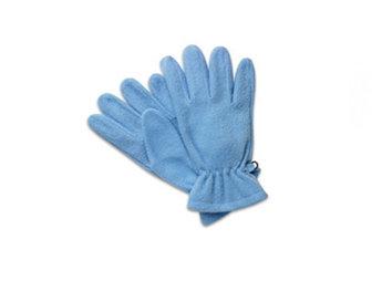 Перчатки из толстого флиса