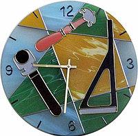 """Витражные часы """"Мир стекла"""""""