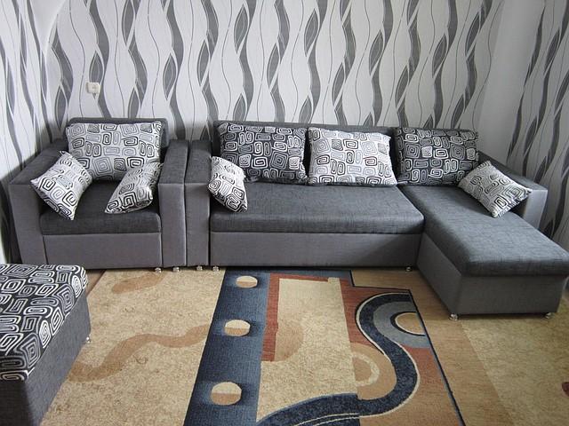Комплект с угловым диваном