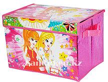 Органайзер (1) детский для хранения вещей 38* 26* 25 см, коробка для хранения