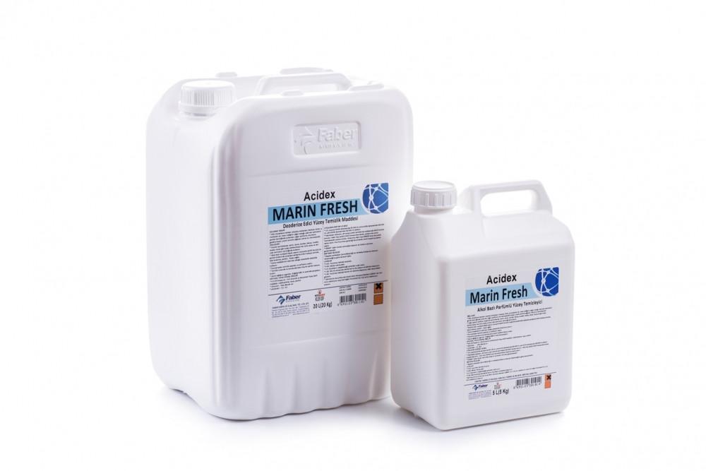 Acidex Marin Fresh- Средство для лакированных и полированных поверхностей.