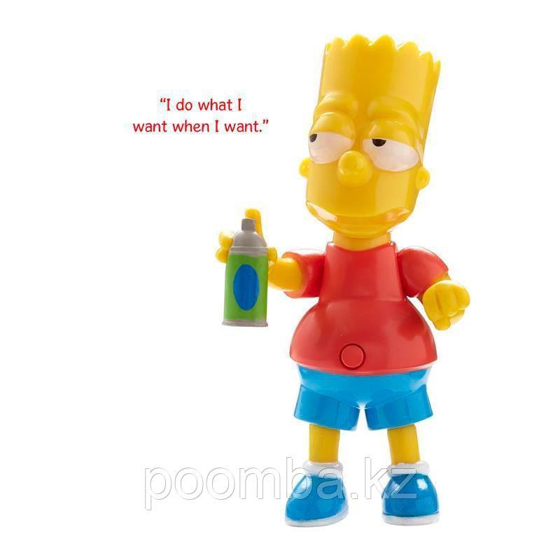 The Simpsons звуковая фигурка Bart Simpson - Барт Симпсон