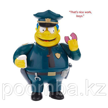 The Simpsons звуковая фигурка Chief Wiggum