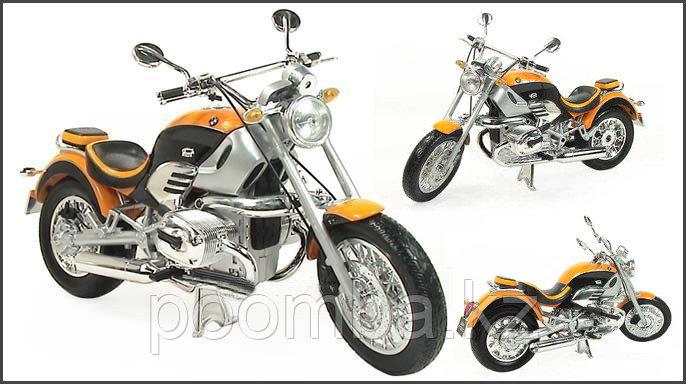 Игрушка Модель мотоцикла BMW R1200C в масш.1:6