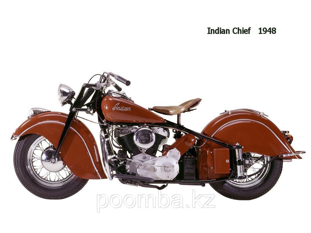 Игрушка Модель мотоцикла INDIAN CHIEF 1948 в масш.1:6