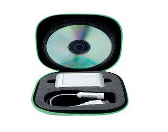 Набор для компьютера Sigma: CD-holder, USB-разветвитель, фонарик