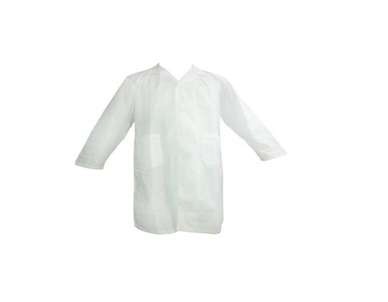 Халат медицинский мужской XL с длинными рукавами