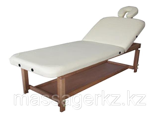 Массажный стол стационарный с деревянными ножками Rideau в ассортименте