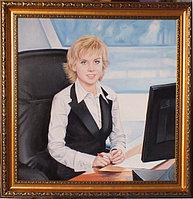 Портрет- оригинальный подарок. Офисный портрет