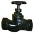 Клапаны (вентили) запорные фланцевые стальные J41H-25 W (Ру-25)