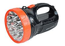 Ручной аккумуляторный фонарь светодиодный Gleamy YJN-1587 12 LED 2 режима