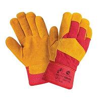 Перчатки спилковые комбинированные утепленные Siberia (Премиум класса)