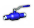Краны шаровые приварные стальные Q61F-40/25, для газа