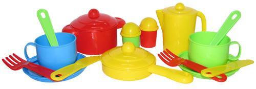 """Набор детской посуды """"Хозяюшка"""" на 2 персоны 3988"""