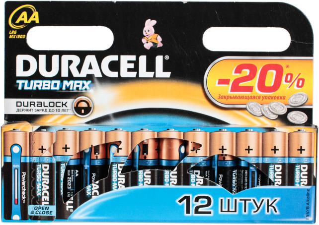 Батарейка DURACELL AAA TURBO MAX LR03