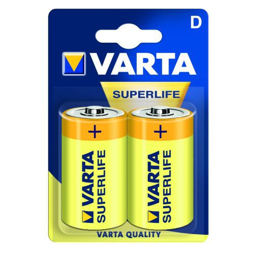 Батарейка VARTA SUPERLIFE D R20