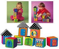 Мягкие кубики в коробке, фото 1