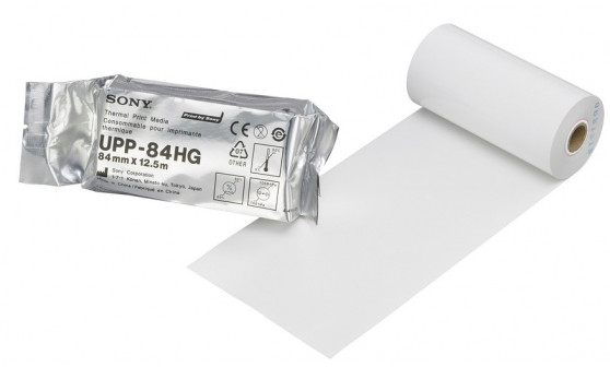UPP-84HG Бумага для УЗИ принтера ч/б, глянцевая, формат A7