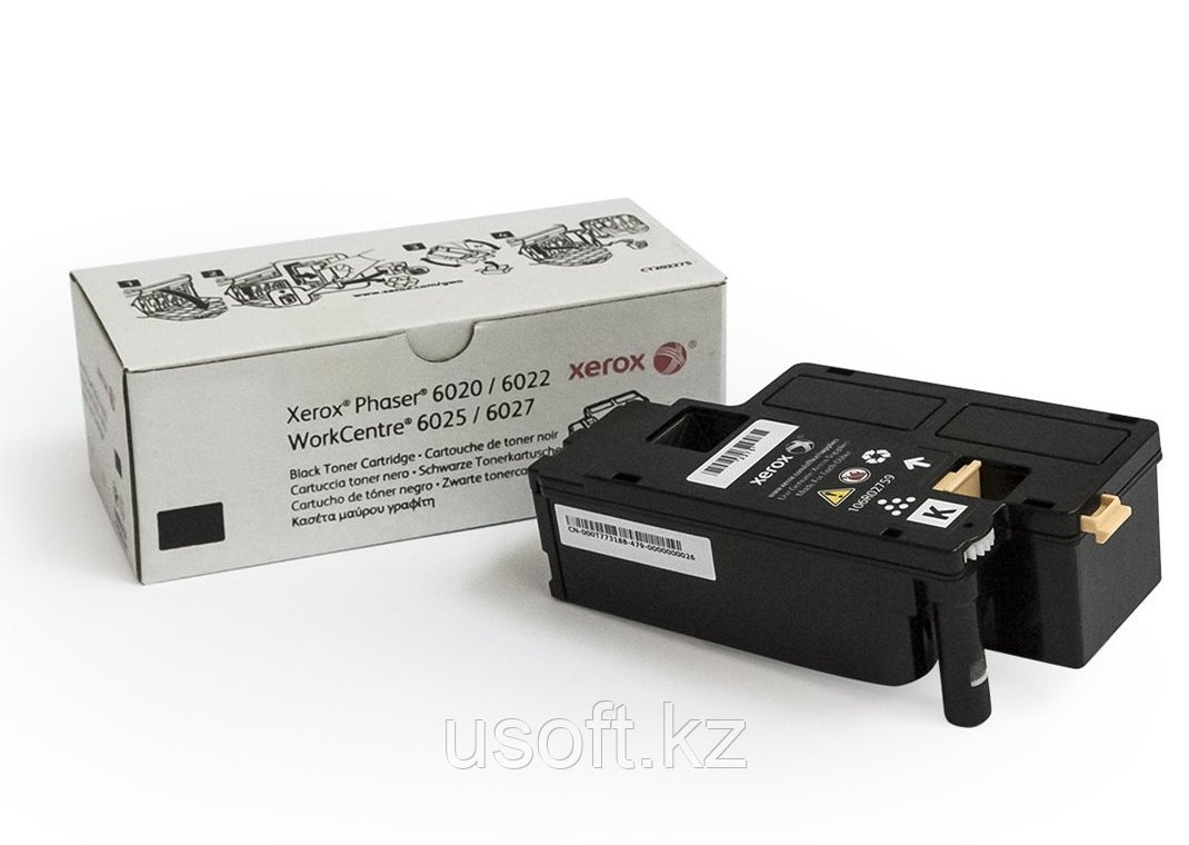 PC/WCC 6020/6025 ПРИНТ-КАРТРИДЖ Black (2k)/6022/6027/ (106R02763)
