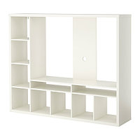 Шкаф для ТВ  ЛАППЛАНД  белый ИКЕА, IKEA