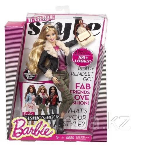 """Кукла Барби """"Стиль"""" - Барби в кожаной куртке"""