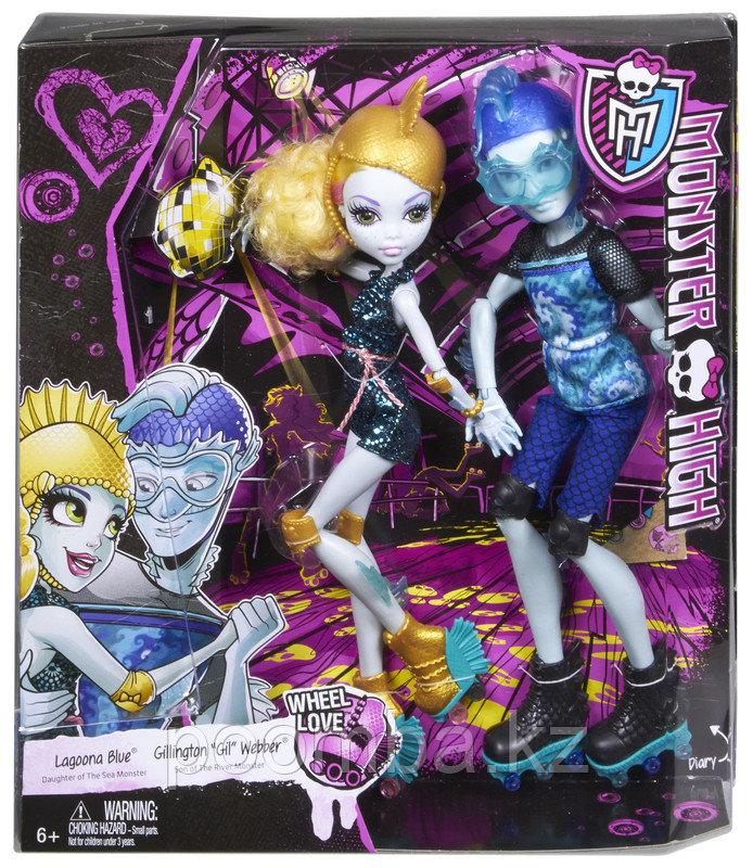 """Monster High """"Любовь на Колесах"""" Гил и Лагуна - фото 5"""