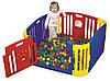 Игровой манеж цветной 8011 Edu play