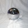 """Новогодняя игрушка на ёлку """"Шар"""" 10 см (цвет: серебро)"""
