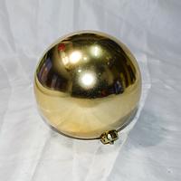 Елочная игрушка шар для украшения больших елок- размер 15 см (цвет: красный, синий, серебро, золото)