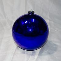 Большой новогодний шар - размер 15 см (цвет: красный, синий, серебро, золото)