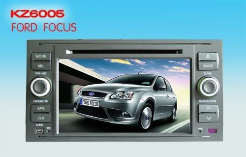 Штатное головное устройство Ford Focus «Kaizhen»