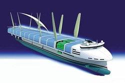 Грузовой корабль будущего «Super Eco Ship» от компании «NYK Line».