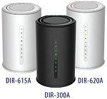 Новые беспроводные маршрутизаторы DIR-300A, DIR-615A и DIR-620A для дома и офиса от компании D-Link