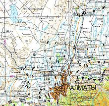 Векторные карты РК в формате MapInfo (комплект 82 шт.)