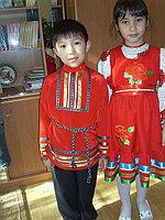 Детский народный русский костюм