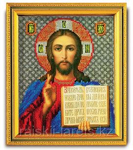 """Набор для вышивания иконы ювелирным бисером """"Спаситель"""" В-301"""