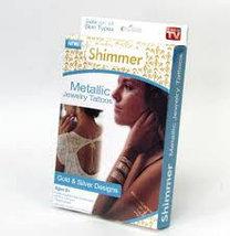 Набор временных флэш татуировок Shimmer Jewelry, фото 2