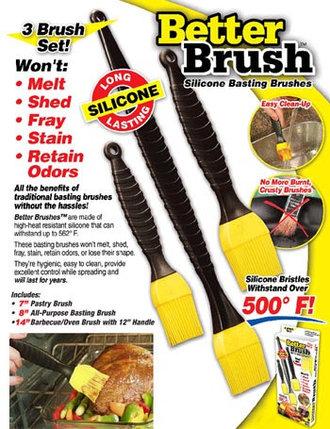 Набор кондитерских силиконовых кистей Better Brush, фото 2