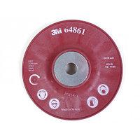 Самоохлаждающаяся ребристая оправка RED под фибровый круг 125mm/M14 (жесткая)