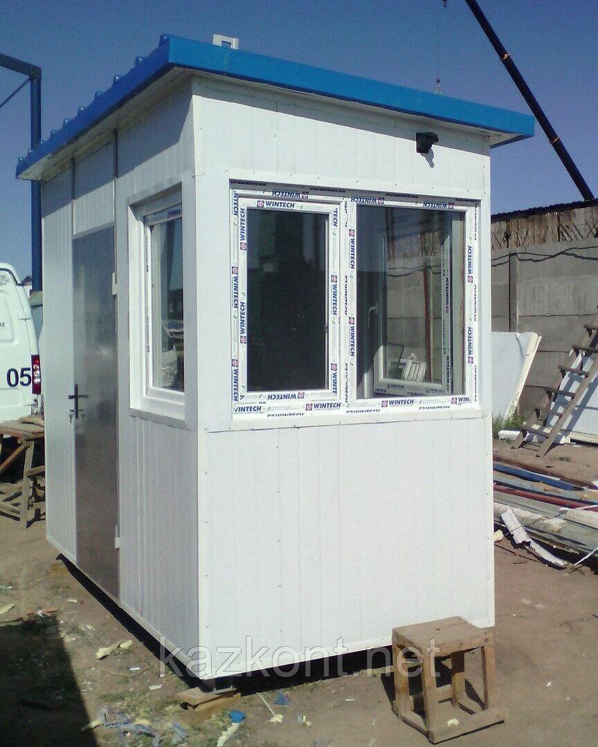Пост охраны, охранная будка 3,0*1,5*2,6 м Алматы