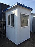 Будка охранника, утеплитель 100мм, охранная будка, КПП 1,5*1,5*2,5 м, фото 2