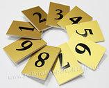 Таблички офисные, номерки, бейджи из пластика, металла, Алматы, фото 3