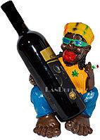 Подставка для бутылки Афро-американец с сигарой, держатель для бутылок