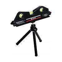 Уровень лазерный, 170 мм, 150 мм штатив, 3 глазка MATRIX 35020