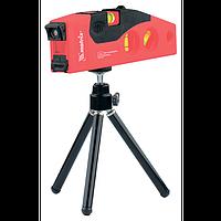Ровень лазерный, 180 мм, 220 мм штатив, 4 глазка MATRIX 35022
