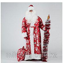 Профессиональный костюм Дедушки мороза, красивый с подкладом и красивым мехом