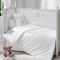 Набор для детской кроватки Funnababy Lovely Bear white, 3 пр.