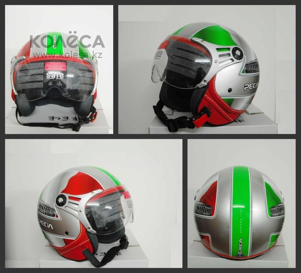 Шлем с визором открытый без подбородника - фото 5